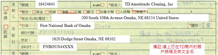 電匯外匯匯出匯款服務申請表填寫教學
