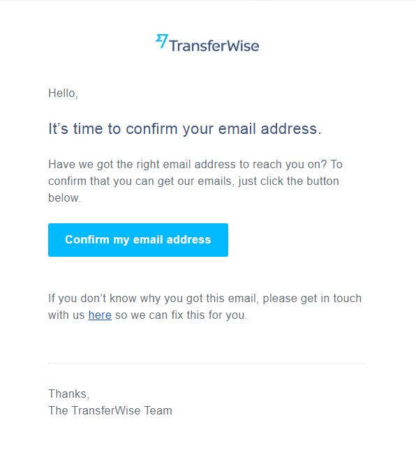 Transferwise開戶步驟3