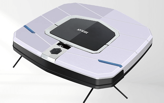 Heran禾聯-超薄型高效能智慧掃地機器人301E6-HVR