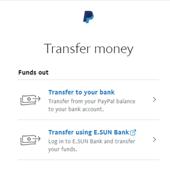 paypal轉錢至transferwise